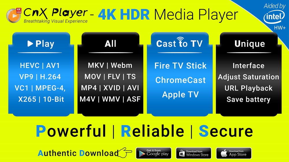 Android - #1 4K HDR All Format Video Player