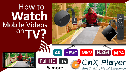 Video Casting FireTV, ChromeCast and AppleTV